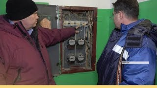 Мирнинцам отключают электричество за неуплату долгов