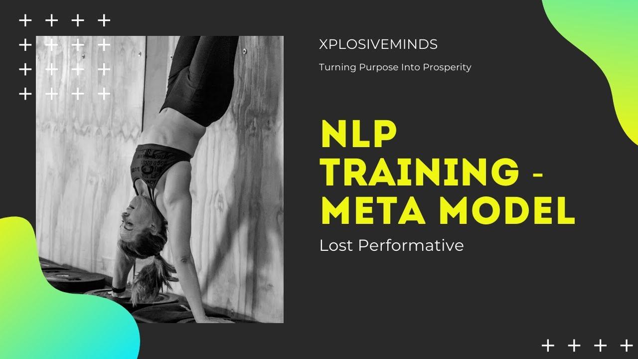 NLP Training   Meta Models - Lost Performative - YouTube