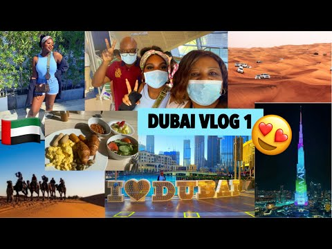 DUBAI VLOG 2020! PART 1| BURJ KHALIFA, THE DUBAI MALL, SHOPPING HAUL , DUBAI METRO , DUBAI MARINA…