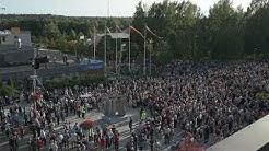 Eppu Normaali -veistoksen julkistaminen Ylöjärvellä 29.8.2018