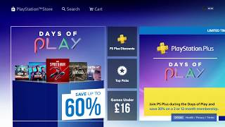 Cheap Games Days of Play eu - PS4 E3 2019 Super Sale?  - PS PLUS Discount -  PS Now 2019