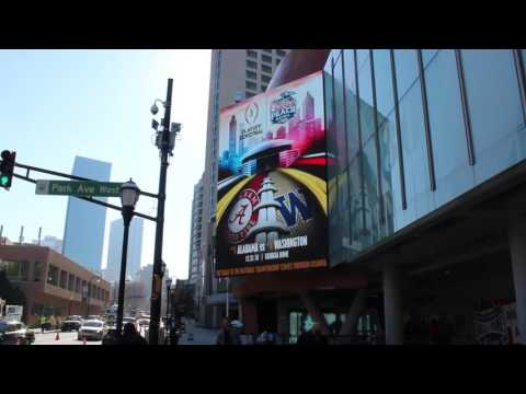 College Football Hall of Fame and Chick-fil-A Fan Experience - Formetco LED Video Board