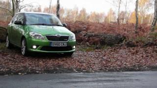 Car Throttle: 2011 Skoda Fabia vRS Review