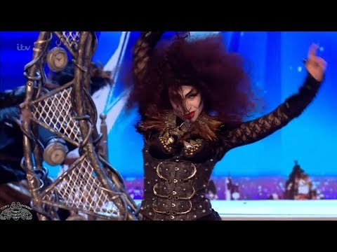 Britains Got Talent 2018 Magus Utopia Amazing & Bizarre Magic Act Full Audition S12E03