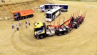Проект Scania Road Show на Байкале