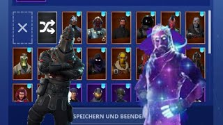 fortnite random account (galaxy skin, schwarzer ritter)😱
