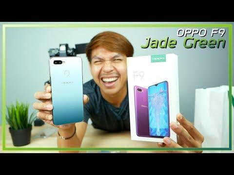 พรีวิว OPPO F9 สีเขียวหยก Jade Green Limited Edition ความรู้สึกหลังแกะกล่อง + ของแถม להורדה