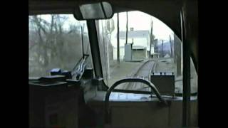 Pittsburgh PCC Streetcar Ride Castle Shannon To South Hills Junction
