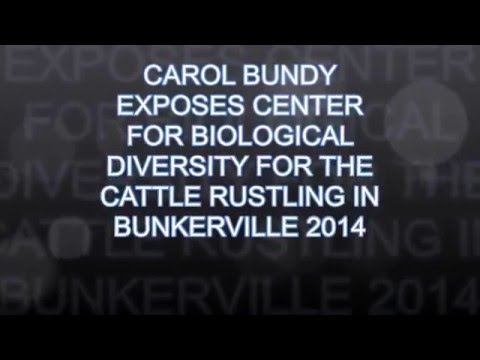 CENTER FOR BIOLOGICAL DIVERSITY INVOLVED WITH BUNDY RANCH 2014