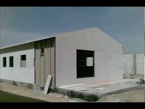 Rapid Construction  -  Steel  Homes & Offices, Exterior: Cement Board, Interior: Drywall