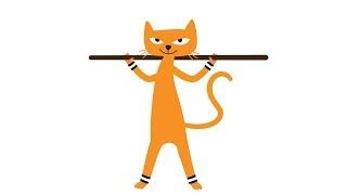 Jumppakissa - jumppasalin notkein kissa