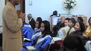 Pastor Robel's Revival Conference at Washington Ethiopian SDA Church. October 22, 2012