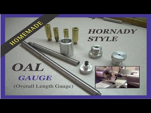 Shop Made Overall Length Gauge (OAL) - Hornady Style - MSFN