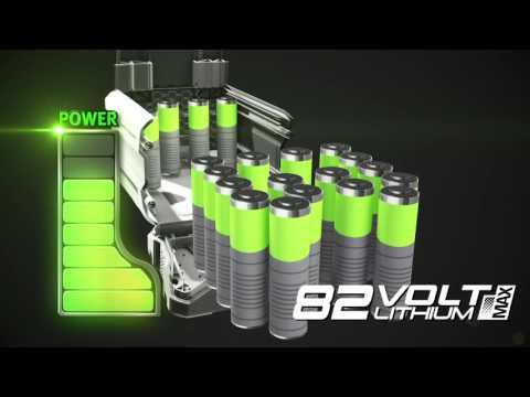 Аккумуляторная ранцевая воздуходувка GreenWorks 82V