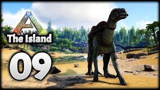 IGUANODON Taming & GHILLIE SUIT! | Let's Play ARK Survival Evolved: The Island | Episode 9