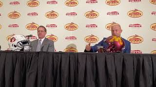 Joint Press Conference: Gus Malzahn and P.J. Fleck
