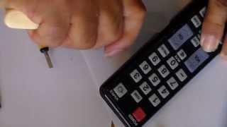 Controle Samsung AA59-00469A como consertar