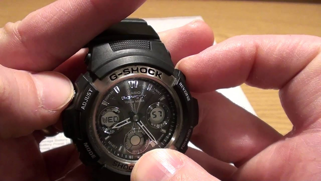 Casio G Shock Tough Solar Youtube