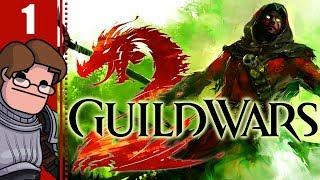 Let's Play Guild Wars 2 Co-op Part 1