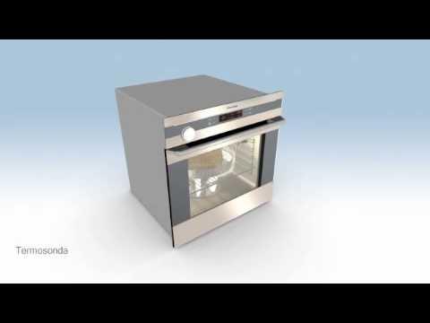 Forno a vapore electrolux youtube for Forno combinato a vapore electrolux