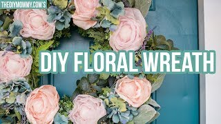 MAY FLOWERS 🌸 DIY Floral Wreath | French Country Farmhouse Decor