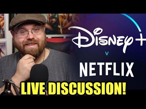 Disney Plus vs Netflix - Live Discussion!!!