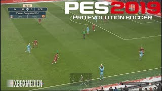 PES 2019 Amazing Realism Real Life Broadcast Camera FULL HD (Xbox One, PC, PS4)