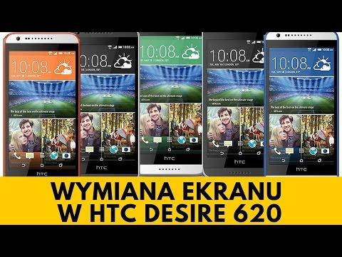 HTC Desire 620 - Wymiana Ekranu, Szybki [PORADNIK]