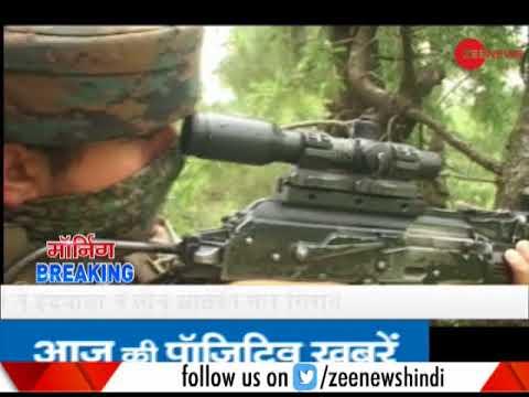 3 militants killed in an encounter between security forces, terrorists in Handwara, J&K
