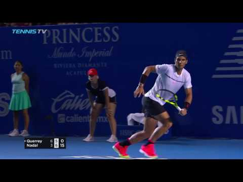 Querrey beats Nadal in 2017 ATP Acapulco final