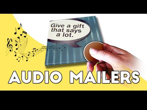 Make Your Own Musical Postcards or Push button sound cards