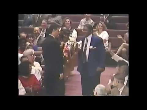 Rod Parsley - Anointing WHBC graduates of 1996