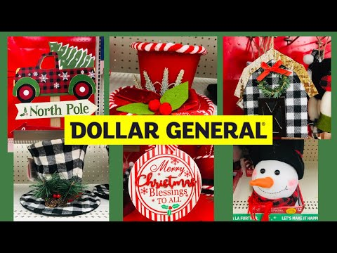 Dollar General Christmas 2020 Shop With Me🎄