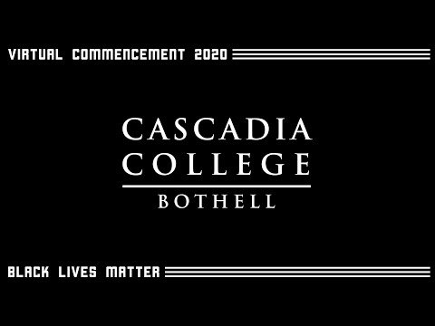 Cascadia College Commencement 2020