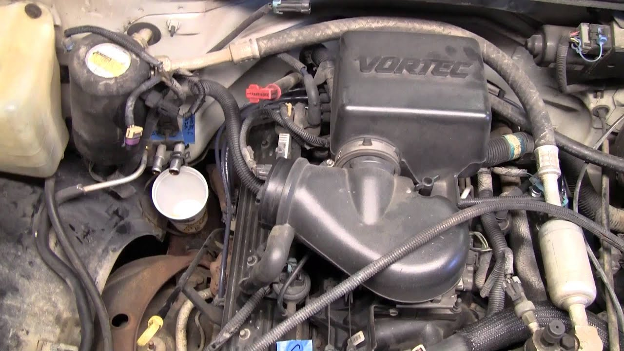 1997 chevy 5 7l 350 intake manifold youtube 97 chevy suburban engine diagram  [ 1280 x 720 Pixel ]