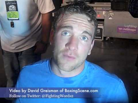 Light heavyweight Mike Lee interview after TKO win over Peter Lewison
