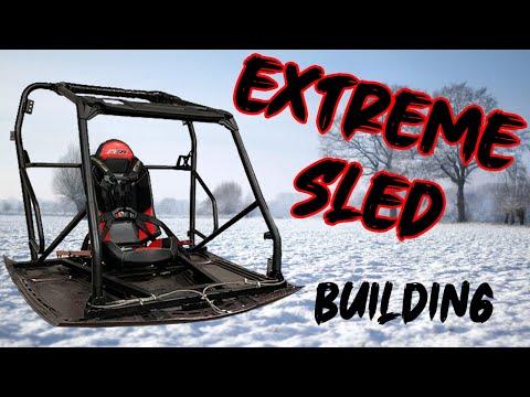 Extreme Sled! Wir bauen einen neuen Schlitten   Quadboy
