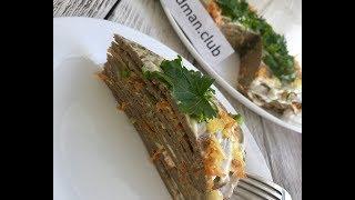 Печёночный торт: рецепт от Foodman.club