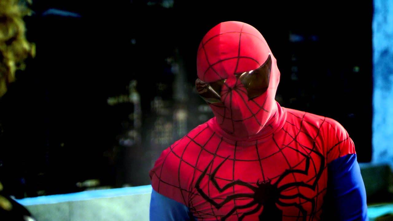 Супергерои. Человек-паук. Силикона. - YouTube
