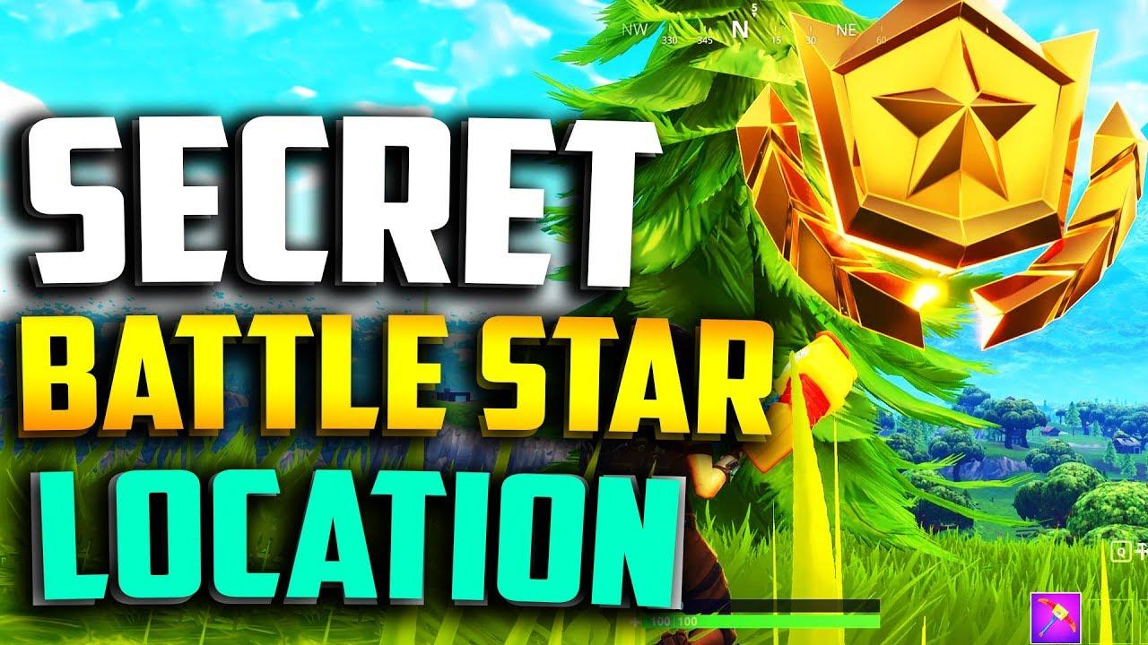 Week 3 Secret Battle Star Location In Fortnite Fortnite Week 3