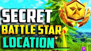 WEEK 3 SECRET BATTLE STAR LOCATION in FORTNITE - FORTNITE WEEK 3 BLOCKBUSTER BATTLE STAR LOCATION