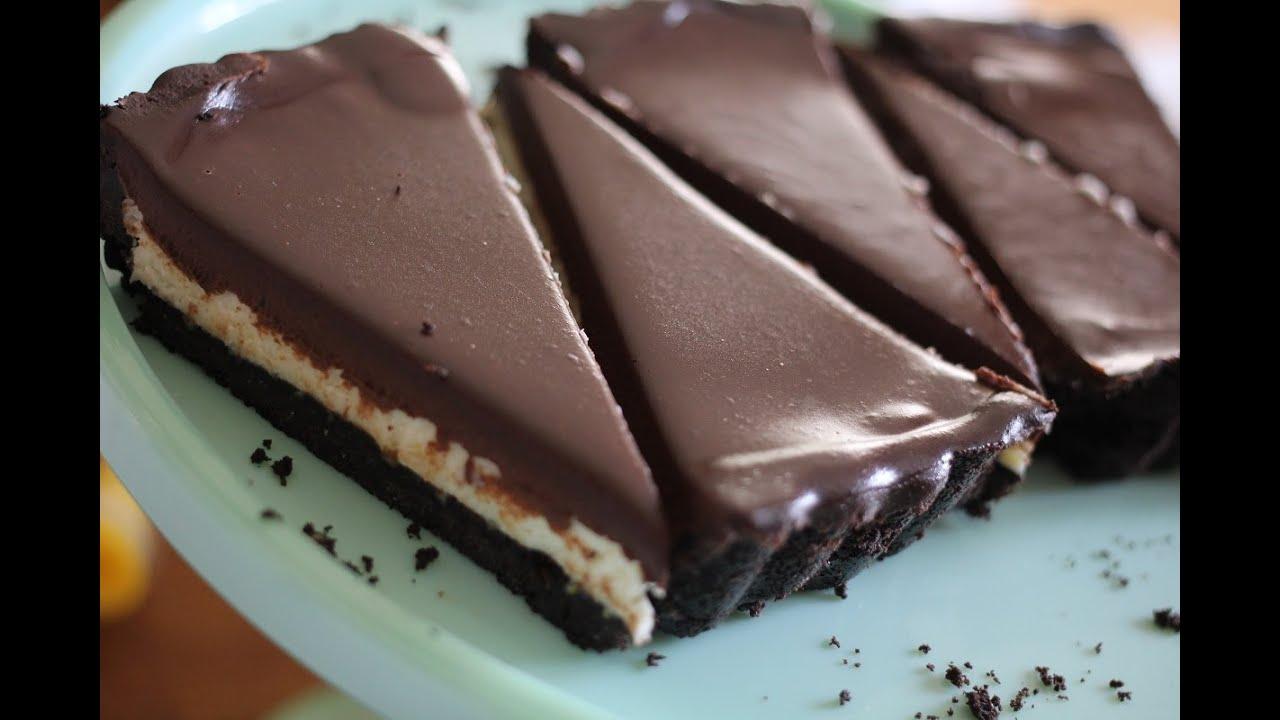 No Bake Mascarpone Tart With Espresso Infused Ganache