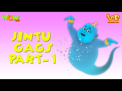 Vir: The Robot Boy | Jintu Gags | Compilation Part 1 - 30 Minutes of Fun | WowKidz