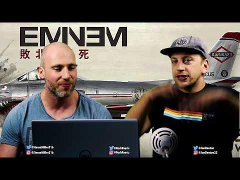 Eminem - The Ringer + Kamikaze REACTION!!!