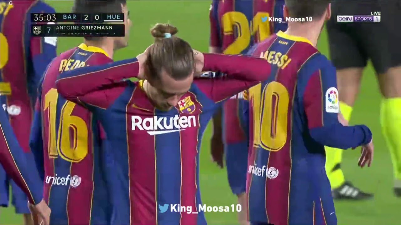 Griezmann Celebration Vs Huesca 2021 Youtube