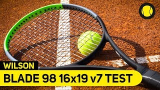 Wilson Blade 98 16x19 v7   Racket Review   Tennis-Point