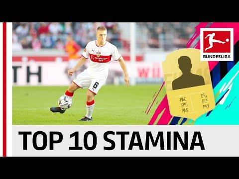Ascacibar, Delaney & Other Powerhorses - EA SPORTS FIFA 19 - Top 10 Stamina