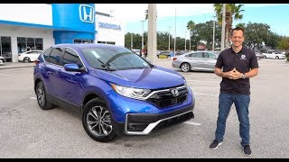 Is the refreshed 2020 Honda CR-V the BEST crossover SUV? thumbnail