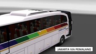 SINARJAYA VIA PEMALANG WONOSOBO - JAKARTA