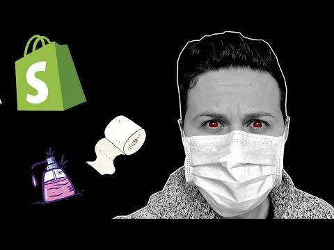 Shopify Dropshipping et Coronavirus - LA VÉRITÉ thumbnail